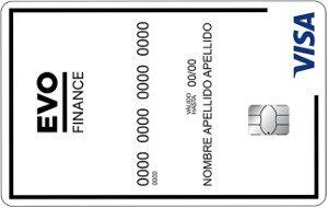 Tarjeta Evo Finance credito