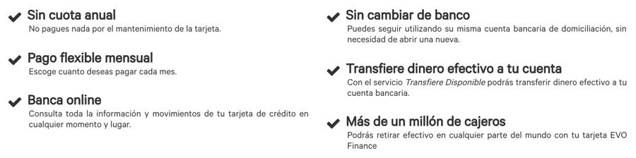Análisis y valoración de Evo Finance Tarjeta